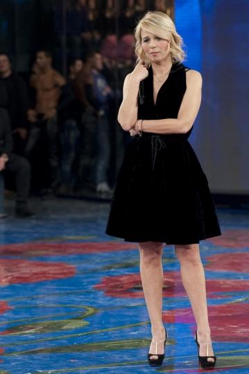 Maria De Filippi alla finale di amici