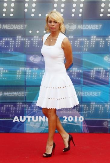 Maria De Filippi alla presentazione dei palinsesti tv