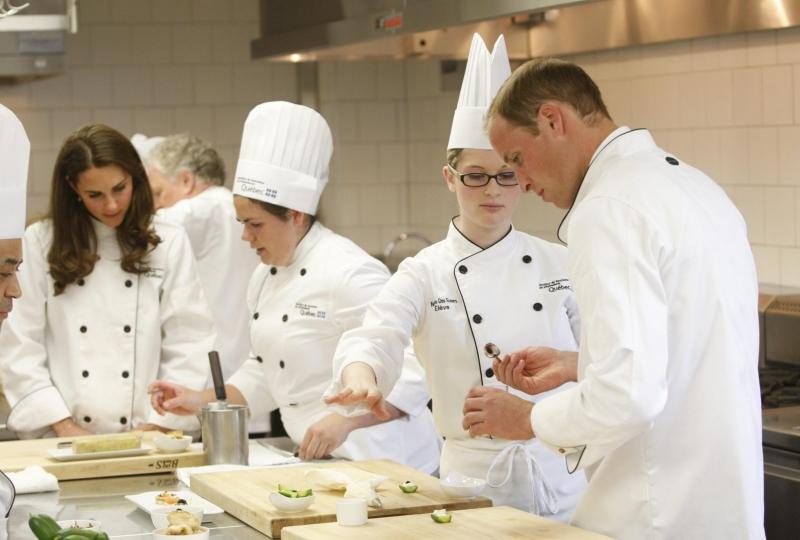 William e kate a lezione di cucina gossip fanpage - Cucina fan page ...