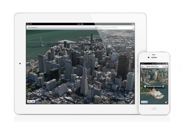 Le mappe 3D di Apple funzionanti su di un iPhone 4 [VIDEO].