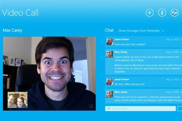 Skype for Metro: le prime immagini dell'applicazione destinata a Windows 8.