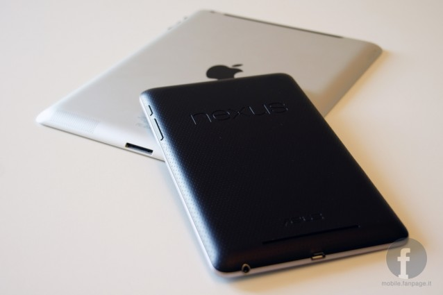 Google Nexus 7 vs. Apple iPad: il videoconfronto.