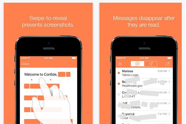 Confide, l'app per nascondere i messaggi al proprio partner [VIDEO].