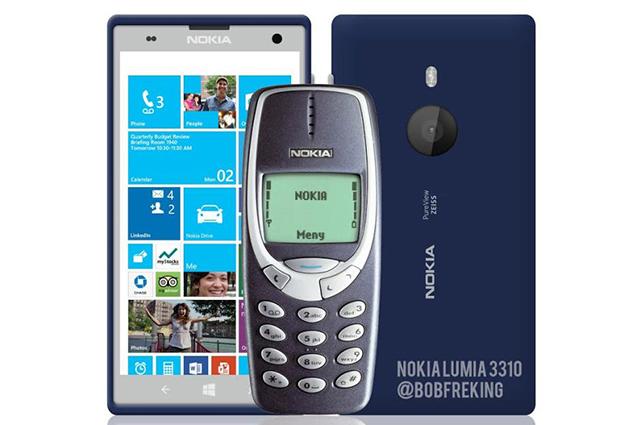 Nokia 3310, il dumbphone più famoso del mondo torna in vita con la serie Lumia [VIDEO].