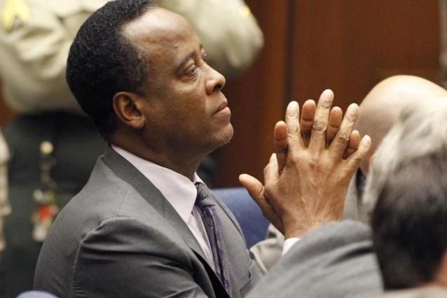 Conrad Murray condannato a 4 anni di carcere.