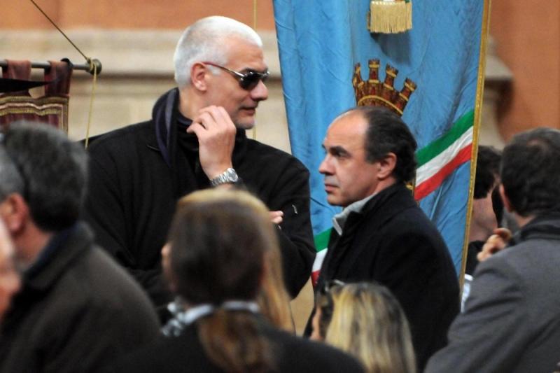 Augusto Binelli e Roberto Brunamonti