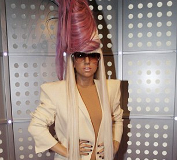 Lady Gaga al Madame Tussauds di Amsterdam