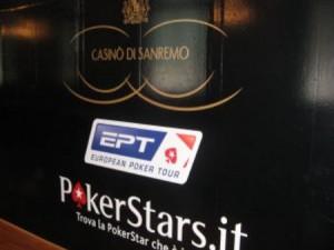 European Poker Tour al Casinò di sanremo