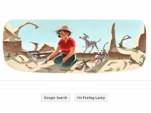 Tanti auguri da Google a Mary Leakey.