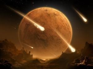 Il bombardamento che travolse il Sistema solare.