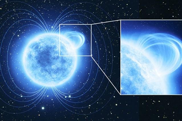 Individuato il campo magnetico più intenso dell'Universo.