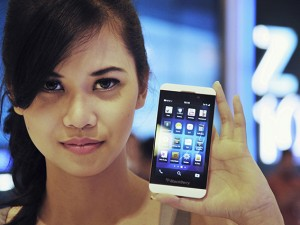 INDONESIA-BUSINESS-BLACKBERRY