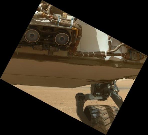 Al di sotto del rover