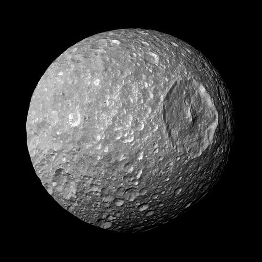 Mimas, marzo 2010