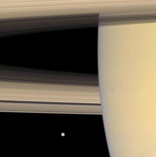 Mimas, settembre 2008