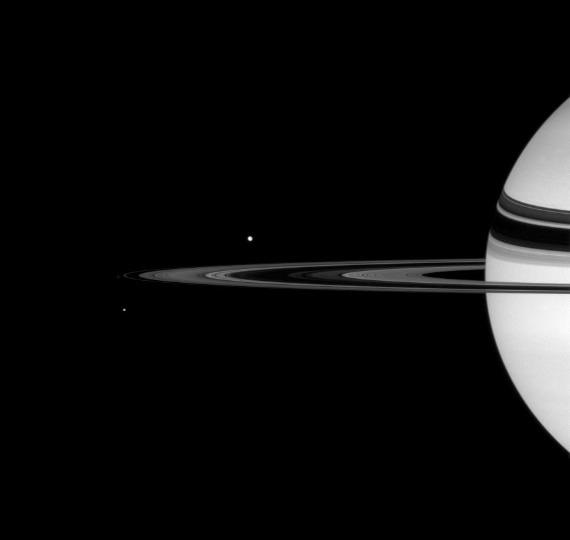 Teti, Pandora e Mimas