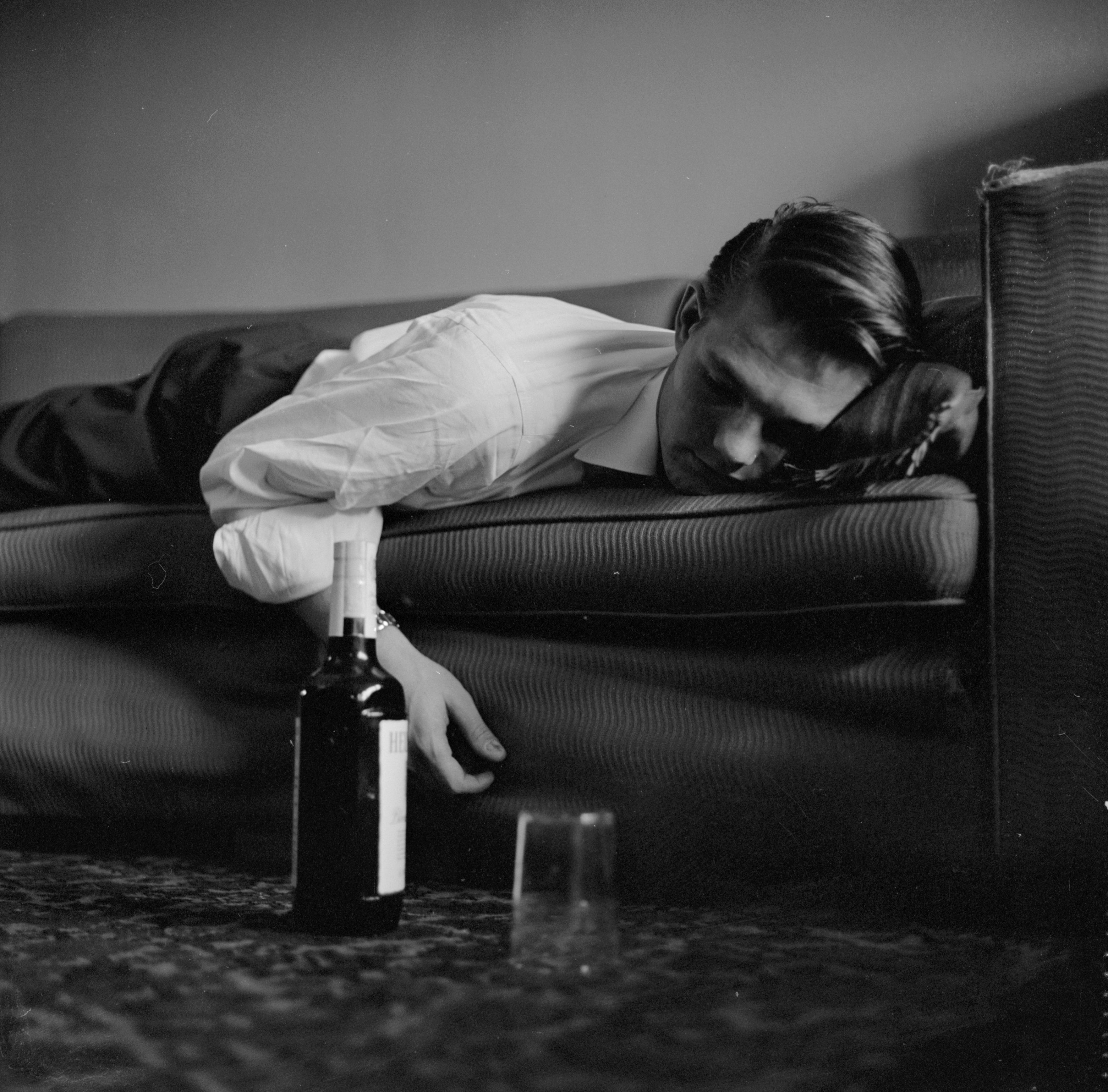 Cura di alcolismo di condizioni di casa di donne