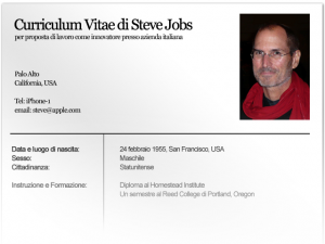 Curriculum Vitae Formato Europeo On Line