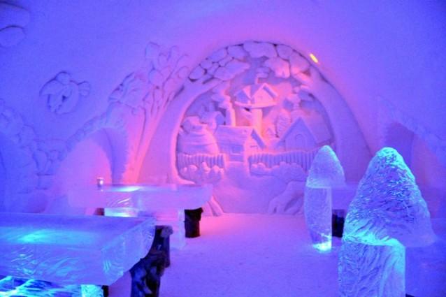 Villaggio e hotel di ghiaccio a Kemi - Finlandia