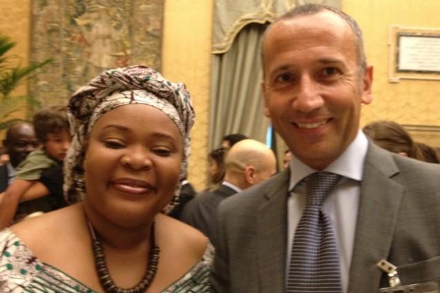 Ho incontrato Leymah Gbowee, premio Nobel per la pace 2011