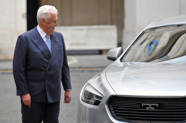 The president of De Tomaso automobili Gi