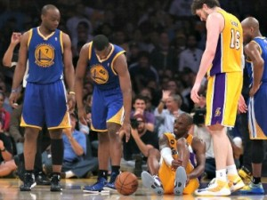 Infortunio a Kobe Bryant: rottura del tendine d'Achille (VIDEO/FOTO).