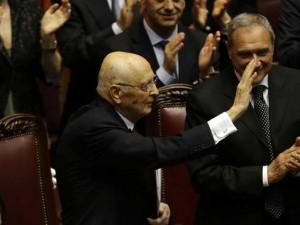 Il testo del discorso di Giorgio Napolitano alla Camera.