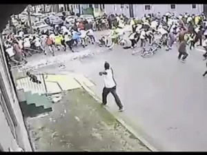 Mother's Day Parade: video di sorveglianza filma un colpevole [VIDEO].