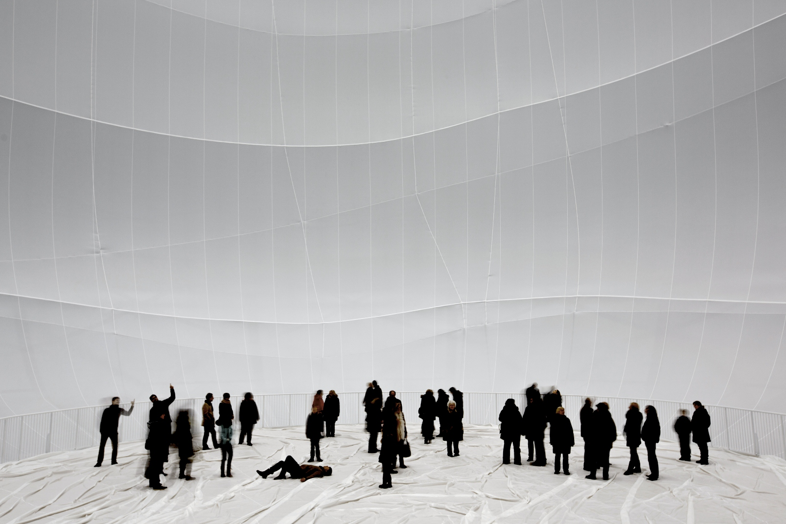 Oberhausen Germany  City new picture : christo big air package gasometer oberhausen germany 2010 13 photo ...