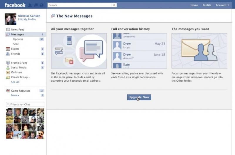 Facebook Email Kontakt