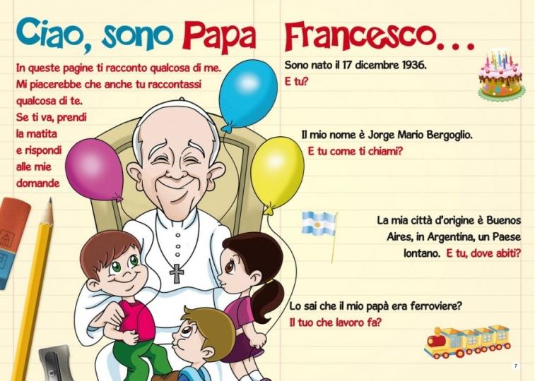 Papa Francesco Arriva Il Fumetto Per I Bambini Fanpage