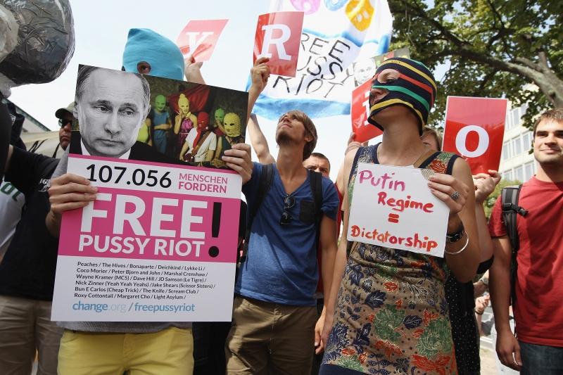 La protesta  a Berlino