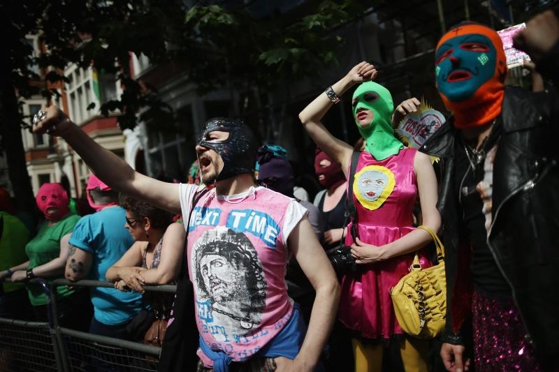 La protesta  a Berlino / 2