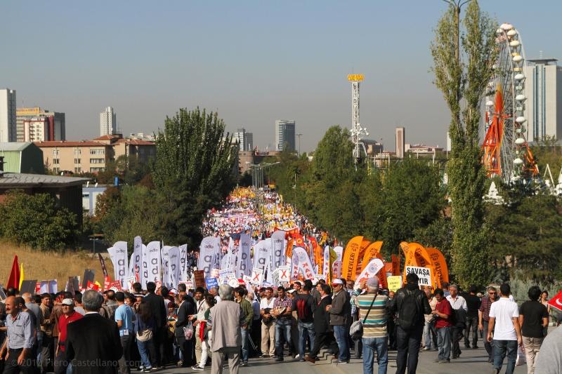 In piazza contro il governo Erdoğan