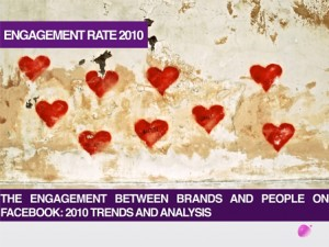 Engagement Rate 2010: qual'è il rapporto tra brand e fan di Facebook?