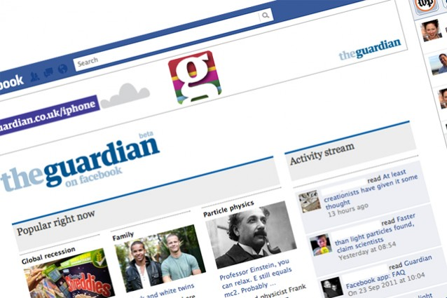 Referral traffic, Facebook batte Google con il sito del Guardian.