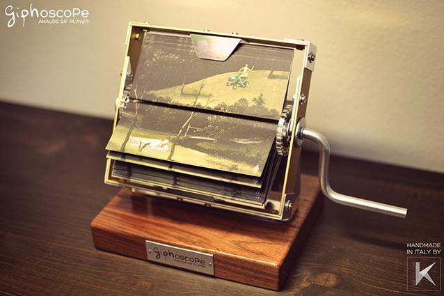 Giphoscope: lo strumento che permette di visualizzare animazioni GIF senza usare un computer.