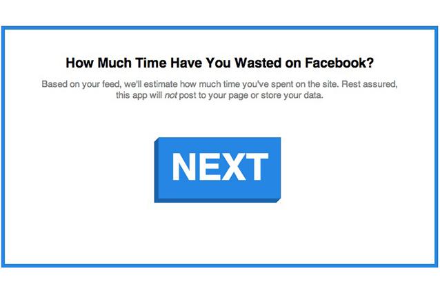 Ecco il contatore che valuterà il tempo che avete perso su Facebook.