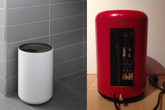 Mac Pro, l'hackintosh realizzato con un cesto per la spazzatura [FOTO].