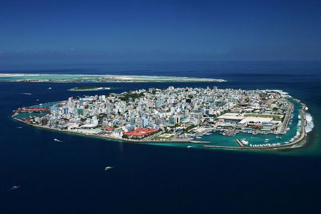 malé capitale delle Maldive