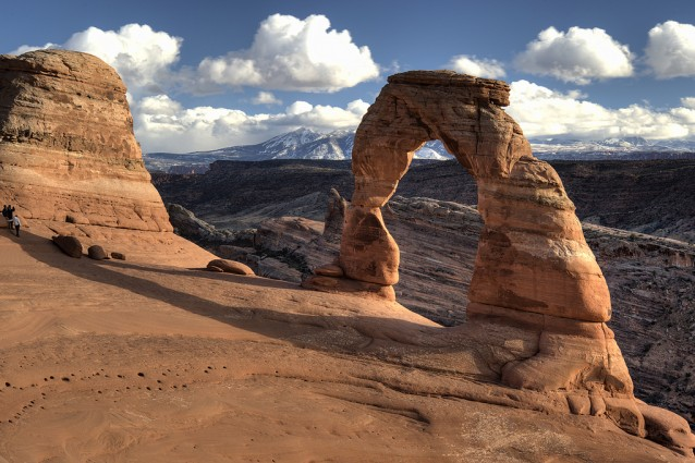 Tour dell'Arches National Park, tra i più suggestivi parchi nazionali americani.