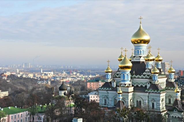 Panorama dalla chiesa di sant'andrea, foto di mykola swarnyk
