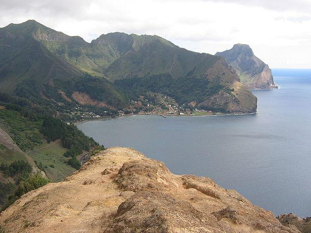 Isola di Robinson Crusoe, panorama