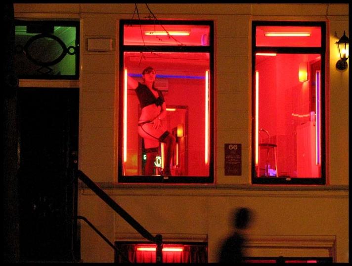 prostitute vetrine amsterdam