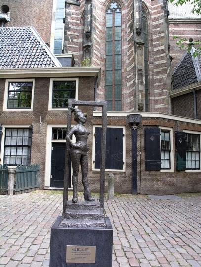 La statua per le prostitute