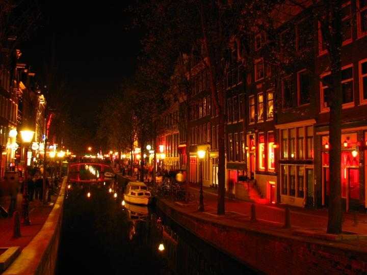Il quartiere a luci rosse