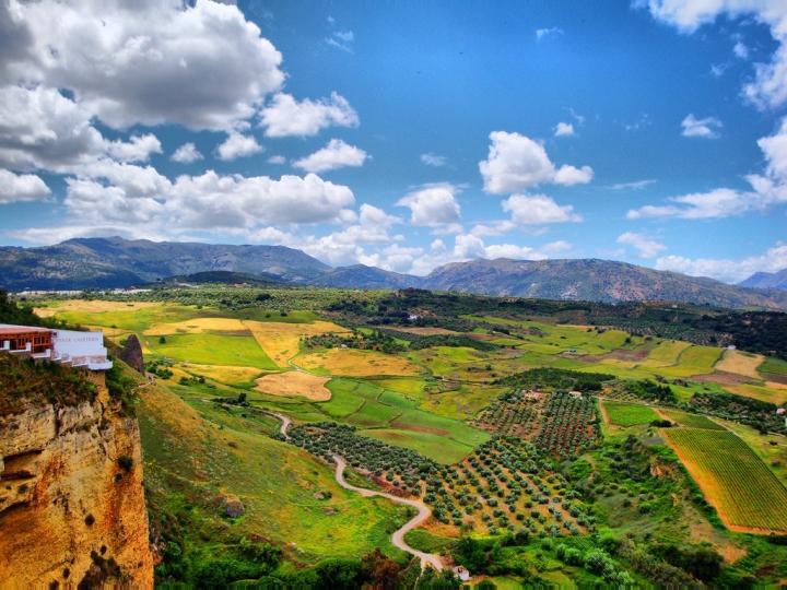 Aprile: Andalucia, Spagna