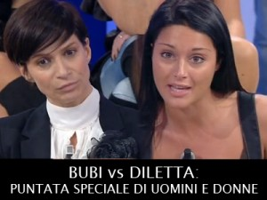 Uomini e Donne anticipazioni: i fan di Bubi e Diletta a confronto dopo la scelta.