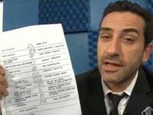 Luigi Pelazza a Le Iene