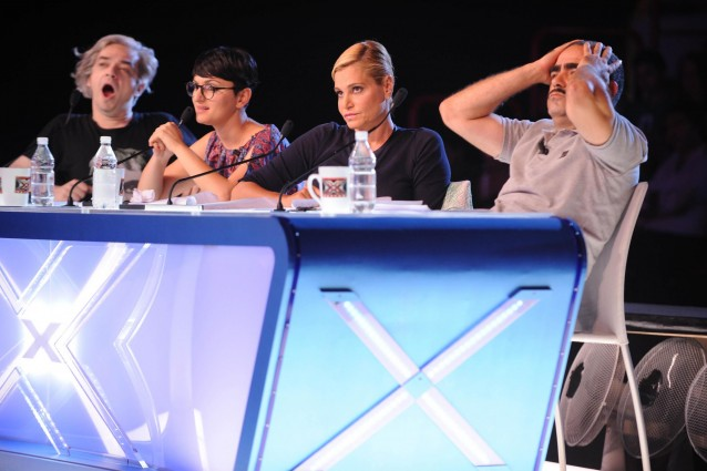 X Factor conferma tutti i giudici: Simona Ventura, Morgan, Elio e Arisa.